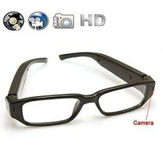 e645edff46b1a Wearable Camera with Video Recording Mini Spy Camera Sunglasses