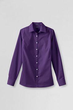 f31f7163b8e17 Women s Broadcloth Shirt. Lands End