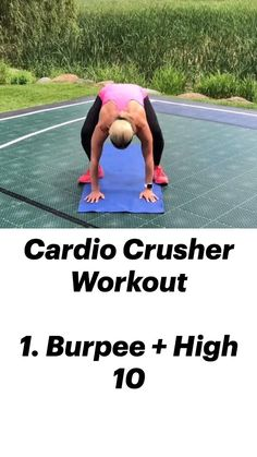 Cardio Workout At Home, At Home Workouts, Cardio Workouts, Tabata, Fitness Workout For Women, Fitness Couples, Workout Challenge, Workout Videos, Fitness Outfits