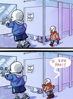 Sans and Papyrus