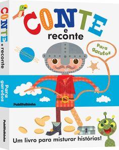Conte e Reconte para meninos - Publifolhinha