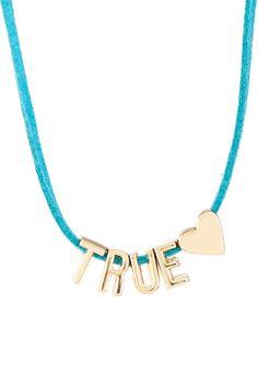 BCBGeneration Mini Affirmation Necklace/Bracelet Duo