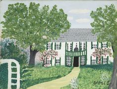Grandma Moses, Thomas Moses, Norfolk, Conn © Grandma Moses Properties Co., New York