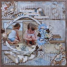 Nice layout with beautiful colours which work well together. - Cathy Lane