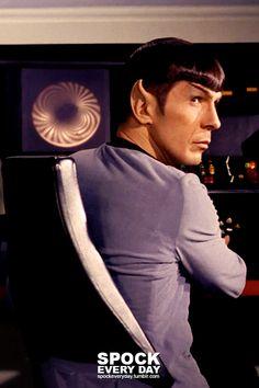 Star Trek Spock, Star Trek Tos, Spock And Kirk, Star Trek Images, Star Trek Characters, Star Trek Original Series, Leonard Nimoy, Star Track, Star Trek Universe