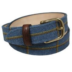 Brand new tweed and leather belts from Timothy Foxx!