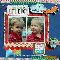 My Little Boy - Scrapbook.com