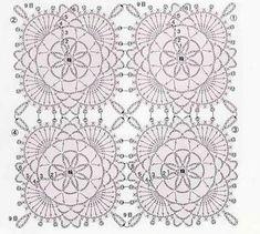 Pink Lace Free Crochet Square Pattern ⋆ Crochet Kingdom