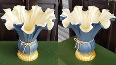 Concrete Garden Ornaments, Diy Cement Planters, Cement Flower Pots, Cement Art, Concrete Crafts, Flower Vase Making, Diy Garden Fountains, Plastic Bottle Crafts, Diy Birthday Decorations