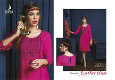 Catalog MOQ : Fullset Total Design : 12 Catalog Name: Kaya Blue Berry-2 Category : Kurti Price : 6350 Fabric : HEAVY REYON SLUB Brand : Kaya, New Kaya Blue Berry-2 Kurti Catalog