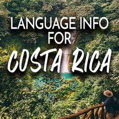 How To Speak Spanish, Costa Rica, Need To Know, Language, Languages, Language Arts