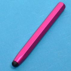 Alumiininen Kosketusnäyttökynä - Tableteille & Muille Mobiililaitteille (Pinkki)