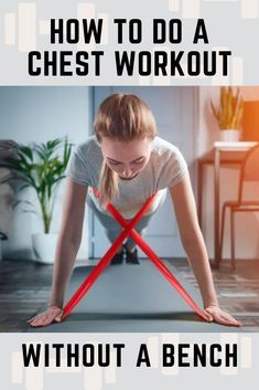 Working out at home is a great way to stay fit, but buying items like a weight bench can be costly and cumbersome. Get-Fit Guy has 9 exercises for an effective chest workout without a bench (plus for 4 supersets!). Best Chest Workout, Chest Workouts, Push Up Stand, Incline Bench, Old Chest, Chest Muscles, Weight Benches, Stability Ball, How To Slim Down