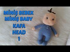 Amigurumi Miniş Bebek 1 (Baş) Amigurumi Miniş Baby 1 ( Head) - YouTube