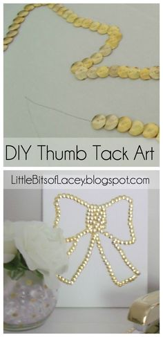 """DIY Push Pin Art 