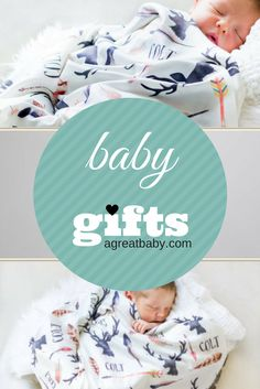 Personalized baby receiving blanket deer and antlers swaddle blanket a great baby personalized baby blankets swaddles clothes negle Choice Image