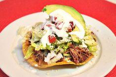 Healthy Mexican Recipes #mexicanrecipes #mexicanfood #beef #tostadas