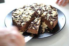 Raw Salted Caramel & Almond Cake