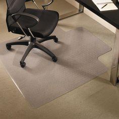 ES Robbins 36 x 48 EverLife Chair Mats For Medium Pile Carpet - ESR122073
