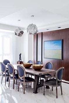 7 idées pour aménager la salle à manger | CHEZ SOI Photo: © TVA Publications | Drew Hadley #deco #salleamanger #amenagement