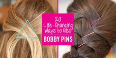 20 Life-Changing Ways to Use Bobby Pins - Cosmopolitan.com