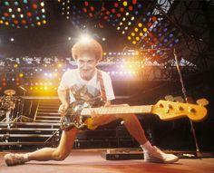 Best bassist. John Deacon of Queen.