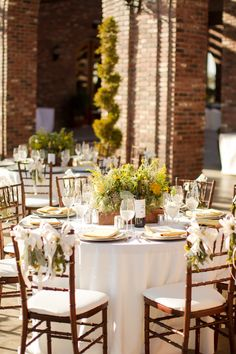 Mike Larson Wedding Photography / #Mikelarson / wedding reception / private estate / brown chairs