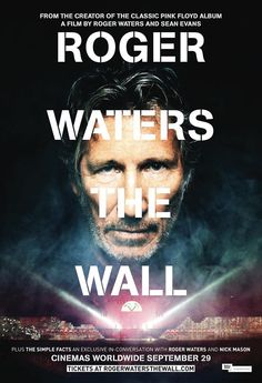 ThinkFloyd61: 'Roger Waters: The Wall', poster revelado