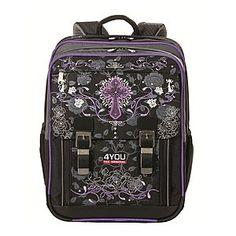 9ab0608c509bb 4YOU Black Label 008 Schulrucksack Classic Puls ◘ ▻ Sehr gute Ordnung duch  einen strukturierten · BackpacksSuitcasePulsLunch ...