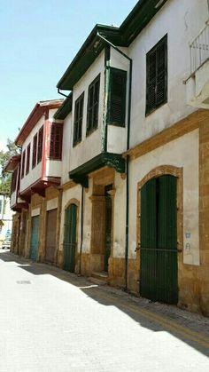 North Cyprus old Nicosia house