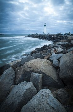 Walton Lighthouse, Santa Cruz, CA                              …