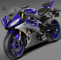 model of Yamaha bike. R15 Yamaha, Yamaha Motorcycles, Yamaha Yzf R6, Pulsar Motos, Custom Sport Bikes, Bike Photography, Scooter Motorcycle, Biker Gear, 3d Studio
