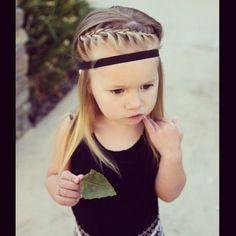 #Geflochtene Frisuren für Babys http://tipsdemadre.com/de/geflochtene-frisuren-fur-babys/
