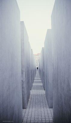 The Holocaust Memorial. Berlin, Germany