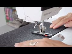 In this video tutorial you will learn how to create perfectly accurate buttonholes using the BERNINA buttonhole foot no. 3 and 3C and the buttonhole foot wit...