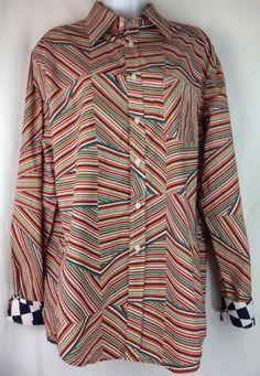 Custo Barcelona Shirt 3 Womens Medium Patchwork Opt Art Burst Contrast Cuffs | Clothing, Shoes & Accessories, Women's Clothing, Tops & Blouses | eBay!