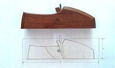 516 - Advancing Handtools, Scraper Plane Drawing & Scraper Plane