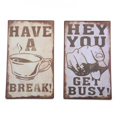 Wall Mountable Rustic Look Motivational Metal Sign - Two Designs Available #homedecor #homeideas www.home33accessories.co.uk