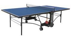 Garlando Master Indoor on tukevarakenteinen pingispöytä. Hyvä valinta esimerkiksi koulu- tai nuorisotilakäytöön!
