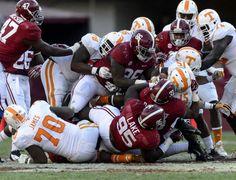 Alabama Football | Alabama Crimson Tide Football vs. Tennessee.  Bama wins 45-10