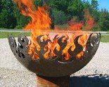 Would love this if we had the space for it!  The artist is John T. Unger and he makes all sorts of fire pits from recycled material.  Beautiful!