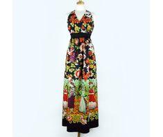 Frida Kahlo Maxi Dress 84059
