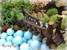 Fairy Garden Bucket, Fairy Garden, Miniature Fairy Garden Kit, Fairy Garden…