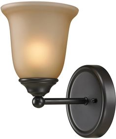Cornerstone 5601BB/10 Sudbury 1 Light Bathbar In Oil Rubbed Bronze