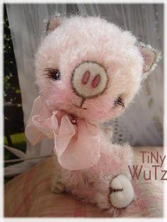 PDF Pattern Pig TiNi WUTZ   by Eileen Seifert  von TeddyManufaktur, €9,95