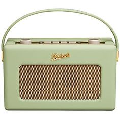 Retro Radios: We have the radio on all day and I love the retro look of a lot of the new digital radios.