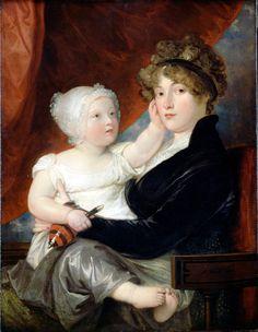 File:West, Benjamin - Mrs Benjamin West II with her son Benjamin West III - Google Art Project.jpg