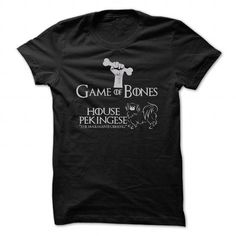 Pekingese Game Of Bones T Shirts, Hoodie. Shopping Online Now ==►…