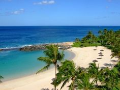 Ko'Olina lagoon on Oahu.