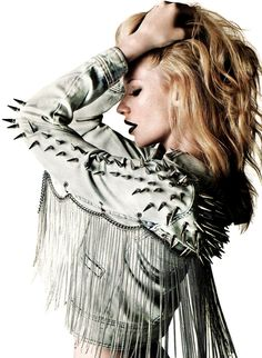Customized jacket for Harper's Bazaar Argentina (June 2011)